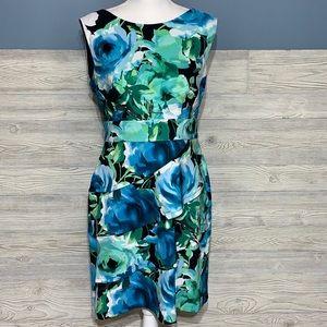 Gorgeous floral sleeveless dress
